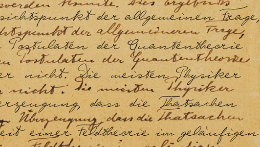 Font of Albert Einstein's Penmanship Could Let You Type Like the Genius