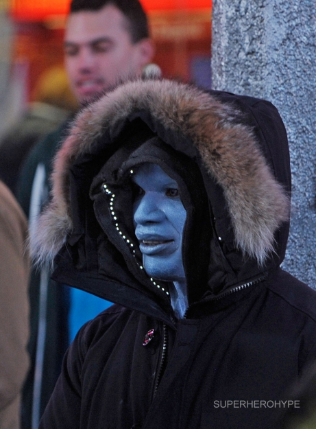 Photos Released of Jamie Foxx as Electro from <i>The Amazing Spider-Man 2</i> Set