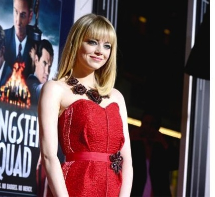 Emma Stone in talks for Guillermo Del Toro's <i>Crimson Peak</i>