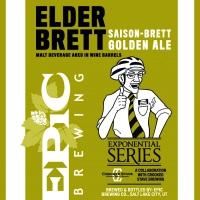 Epic Brewing Elder Brett Release #4 Review