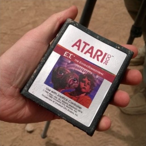 Unearthed Copies of Atari's <i>E.T. the Extra-Terrestrial</i> to be Auctioned