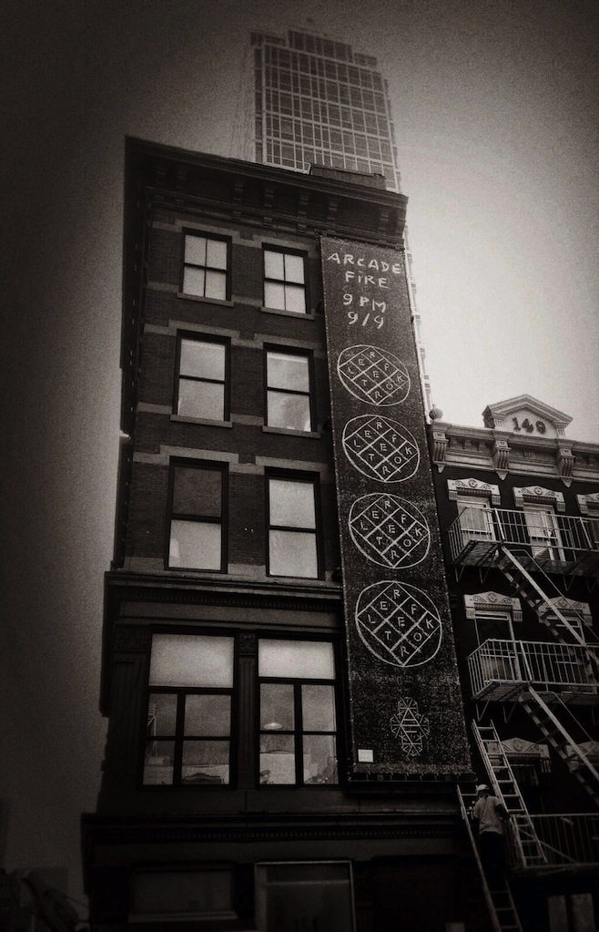 Arcade Fire Officially Tied to Reflektor Street Campaign