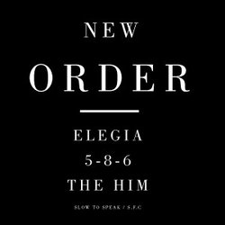 "New Order Announces Vinyl EP With Full Version of ""Elegia"""