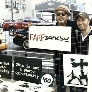 A Banksy Imitator in New York is Making Pretty Decent Money