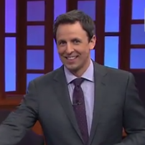 "Seth Meyers Challenges <i>Late Night</i> Viewers to ""Fake or Florida"""