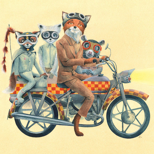 16 Works Of Art Inspired By Wes Anderson Movies