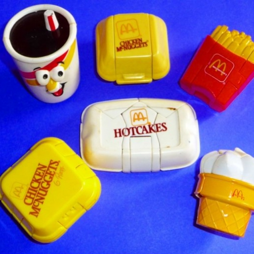 Old-School Fast Food Toys That Look Like Fast Food