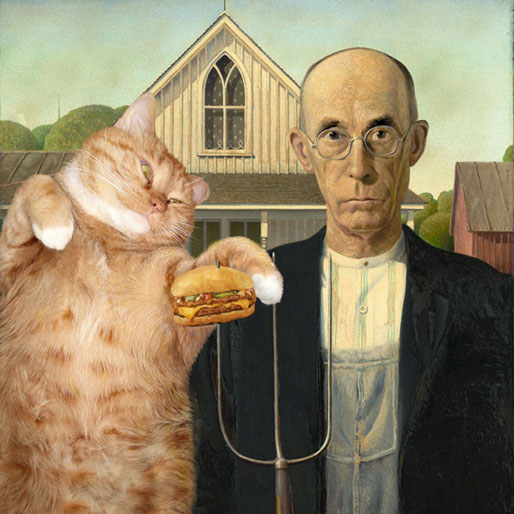 FatCatArt Is Exactly What It Sounds Like, and It's Awesome