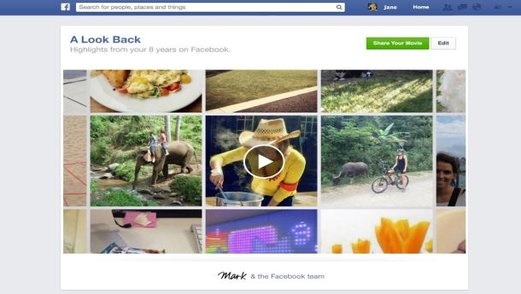"Facebook Turns Ten and Gives Us a ""Look Back"""