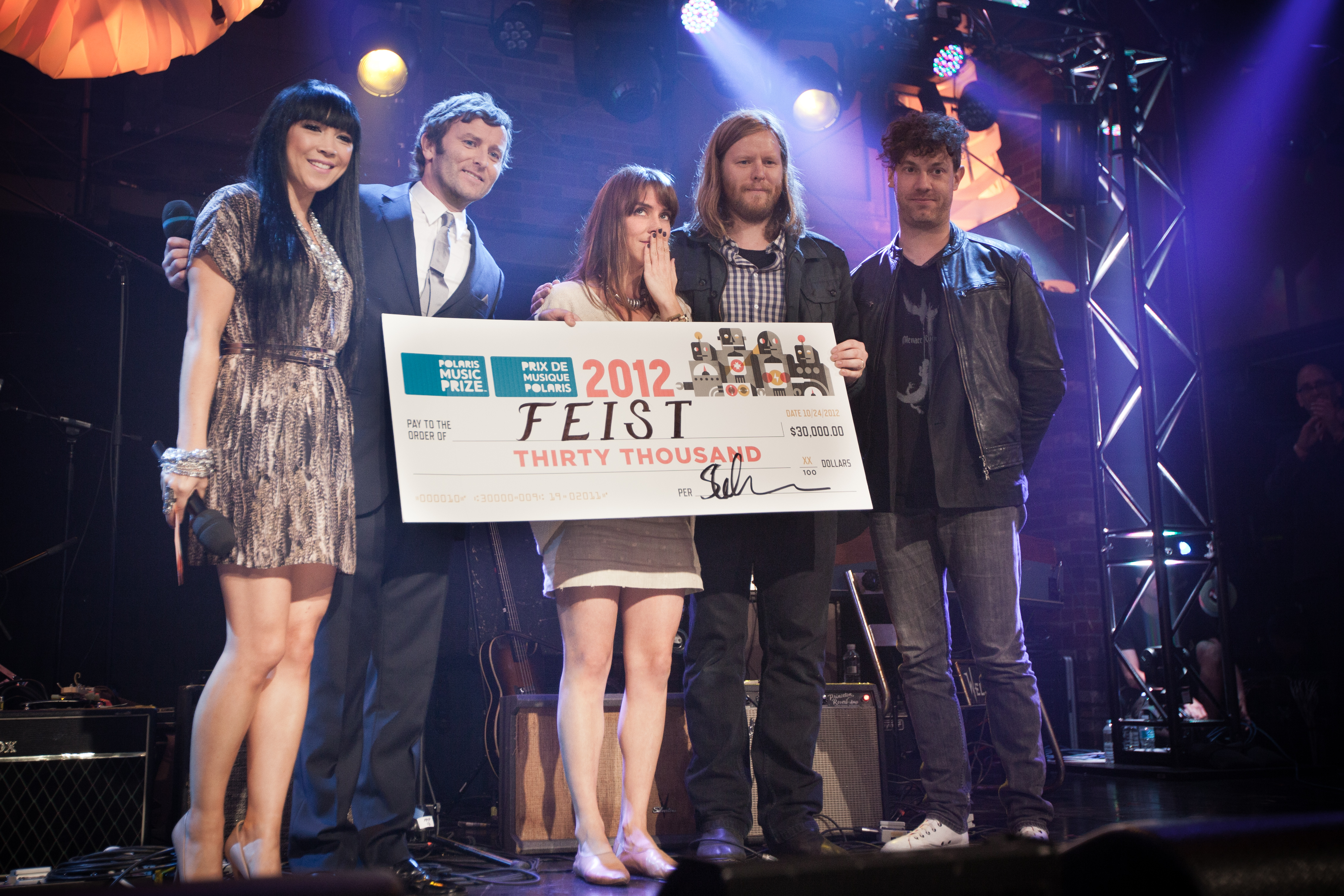 Feist Wins 2012 Polaris Music Prize for <i>Metals</i>