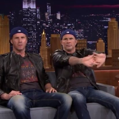 Lars Ulrich Accepts Ferrell/Smith Drum-Off