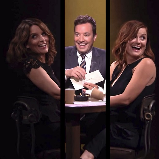 Watch Tina Fey and Amy Poehler Play True Confessions with Jimmy Fallon