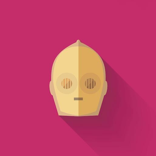 Portuguese Designer's Simple Star Wars Icons