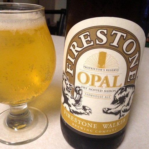 Firestone Walker Opal Saison Review