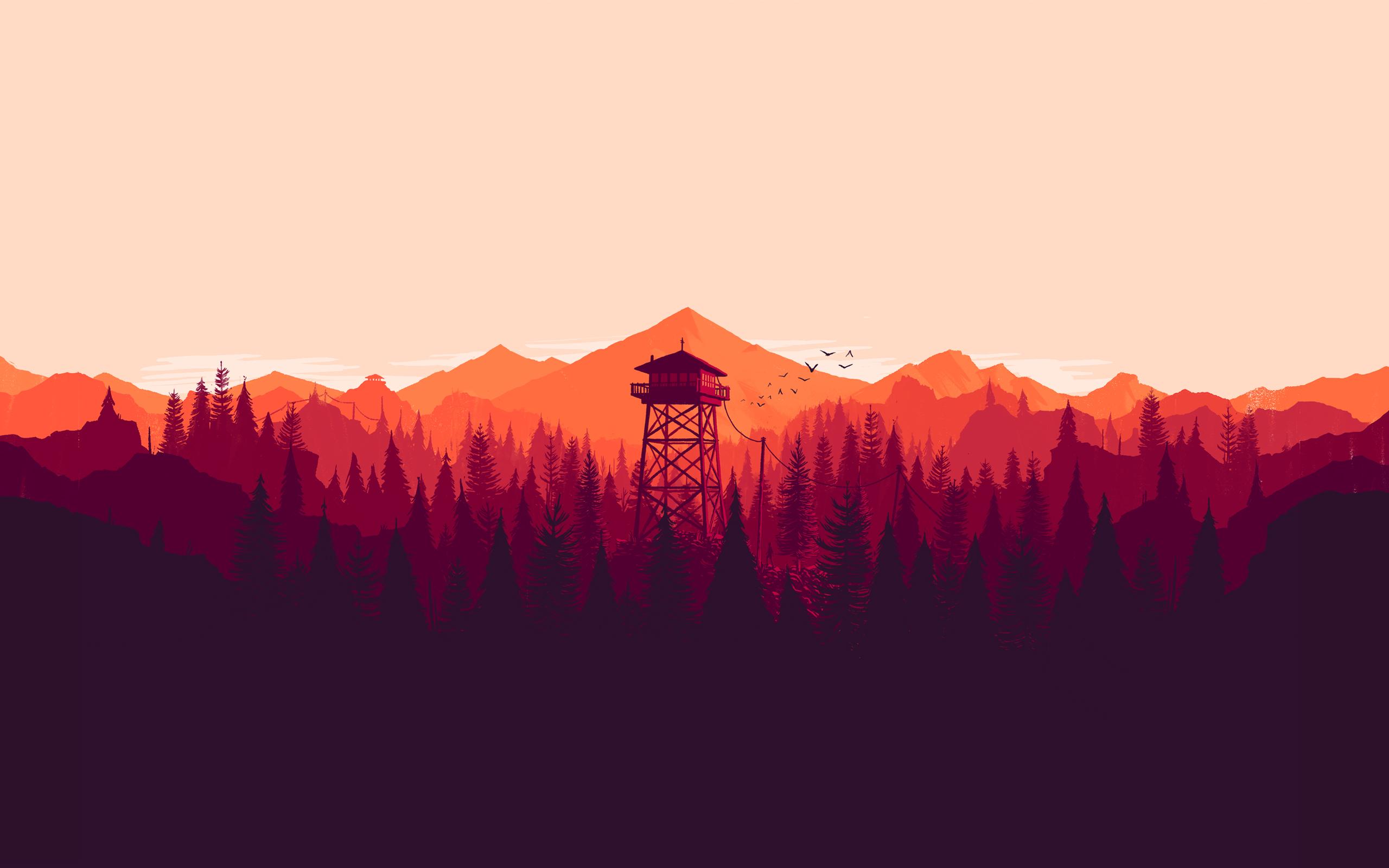 Firewatch original art jpg