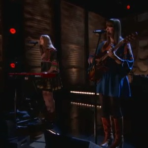 "Watch First Aid Kit Play ""Emmylou"" On <i>Conan</i>"