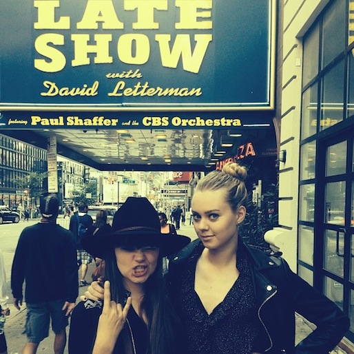 """First Aid Kit Returns to Letterman, Plays """"My Silver Lining"""""""