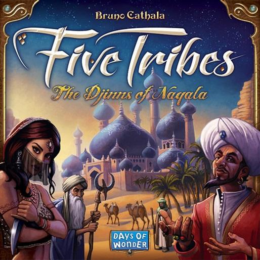 <em>Five Tribes</em> Boardgame Review: Original Djinn