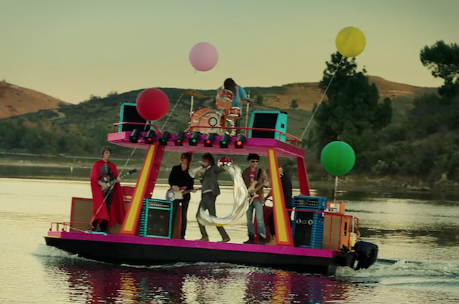 Watch The Flaming Lips' Superbowl Commercial