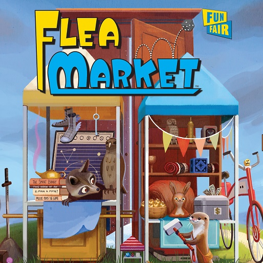 <i>Flea Market</i> Boardgame Review