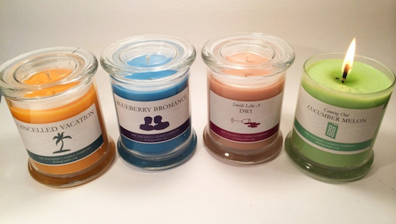 Flicking Candles: Humorous Scents for Life's Disappointments