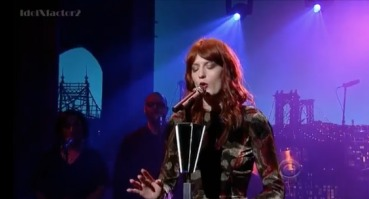 Watch Florence + The Machine on <i>Letterman</i>