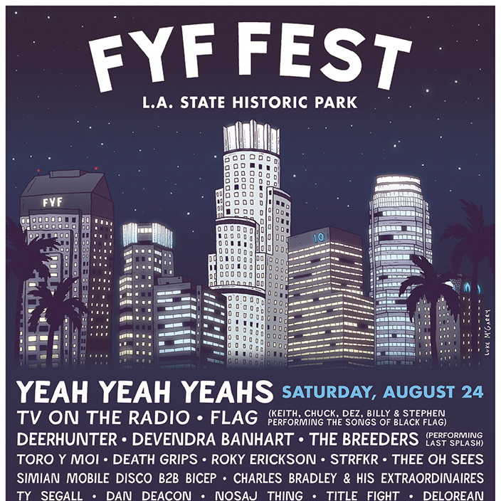 FYF Fest Announces 2013 Lineup
