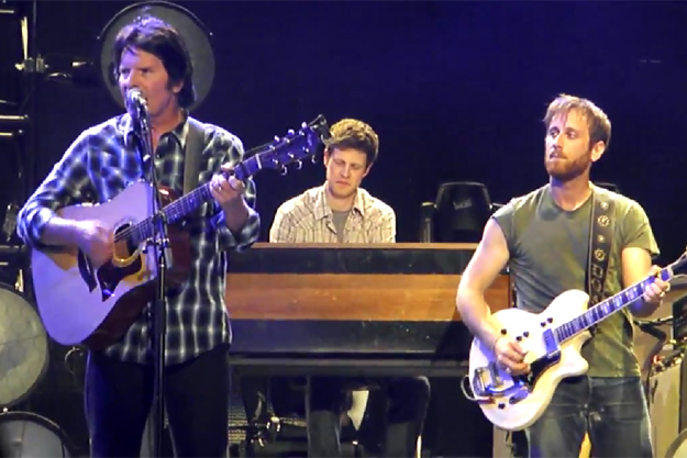 Watch The Black Keys and John Fogerty Cover The Band