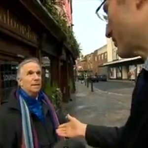 "BBC Reporter Approaches ""Man on the Street"" Who Happens to be Henry Winkler"