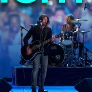 Watch Foo Fighters Perform at the DNC