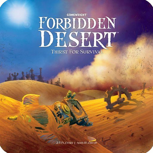 Boardgame Review: <em>Forbidden Desert</em>