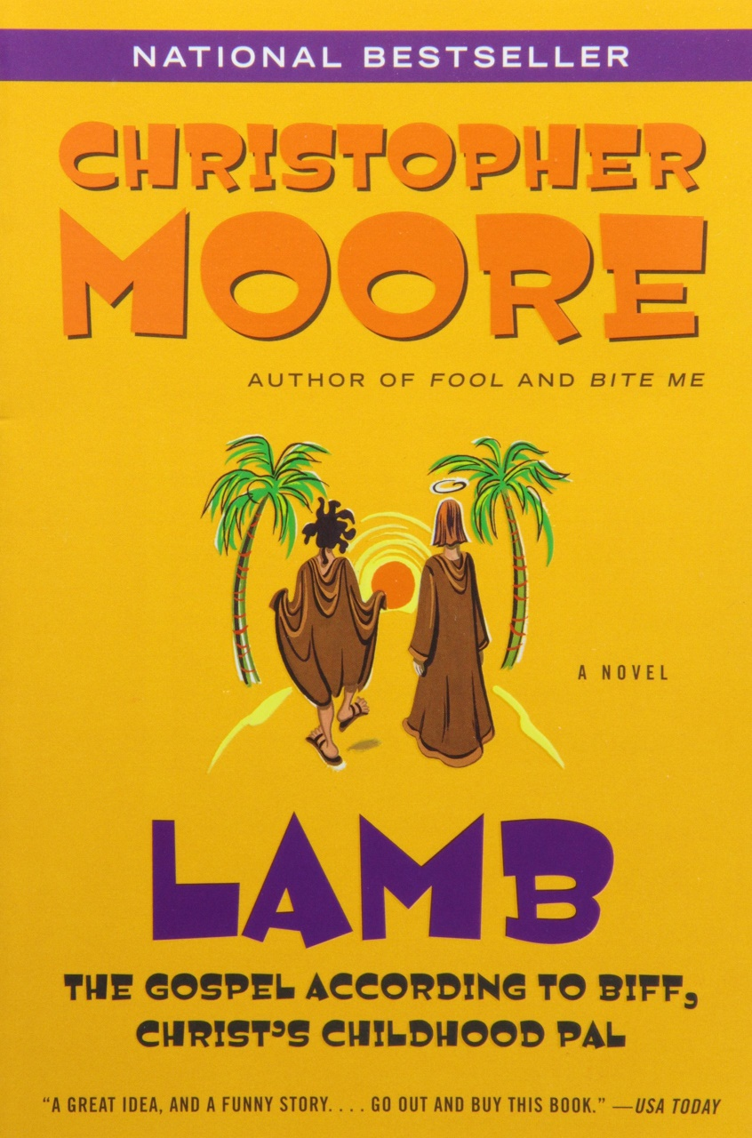 funny lamb books moore christopher gospel comedy biff according articles distract certain during christ which pal childhood jesus sarcasm prayers