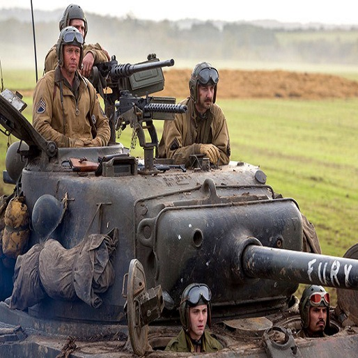 Brad Pitt Returns to WWII in First <i>Fury</i> Clip