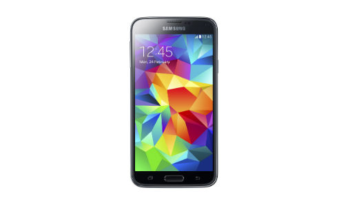 This is the Samsung Galaxy S5