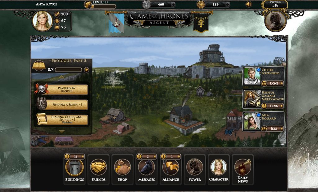 Disruptor Beam Launches <i>Game of Thrones</i> Social Media Game