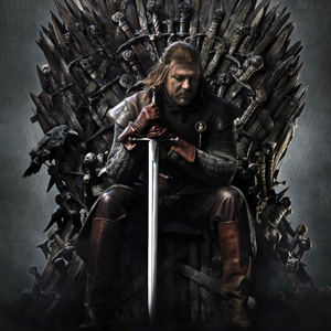 "George R.R. Martin Reveals ""The Real Iron Throne"""