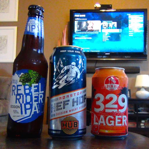 Gamer Buzz: Session Beer Trio and Halo: Master Chief Collection