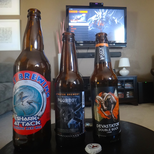 Gamer Buzz: Monster Hunting With Lagers, Porters and Ales, Oh My!