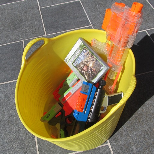 Games for Ice Cream: At The Toy Gun and Violent Videogame Exchange
