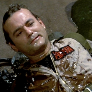 "Bill Murray Says <i>Ghostbusters</i> Slime Was ""Disgusting"""
