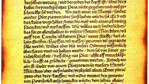 Germans Seek Beer Purity From United Nations