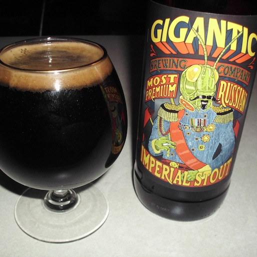 Gigantic Most Premium Stout Review