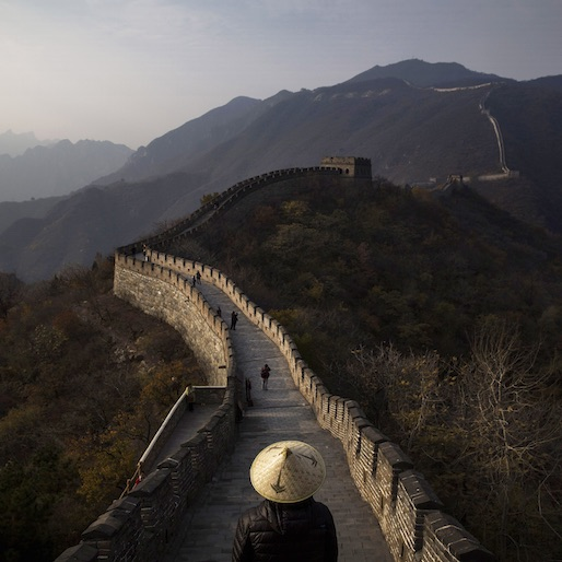 The Great Wall of China is Disappearing