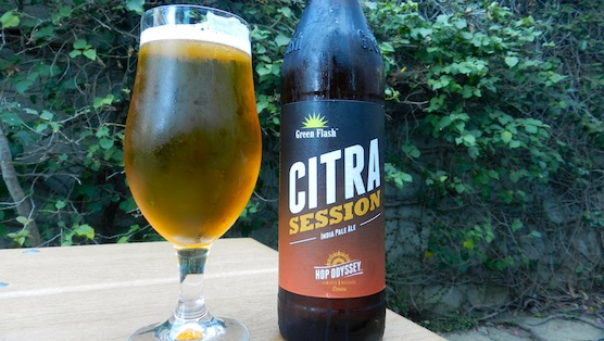 Green Flash Citra Session IPA Review