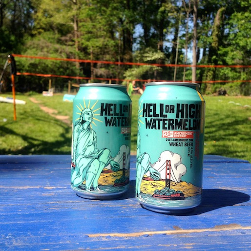21st Amendment Brewery Hell or High Watermelon Review