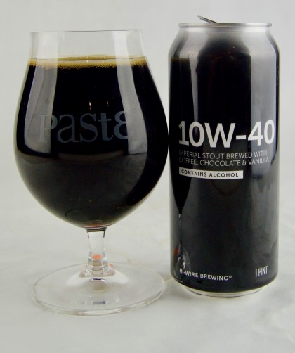 Image result for Hi-Wire 10w-40 beer IN GLASS