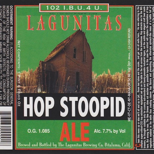 Lagunitas Hop Stoopid Review