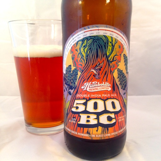 Humboldt Brewing Company's 500 BC Double IPA