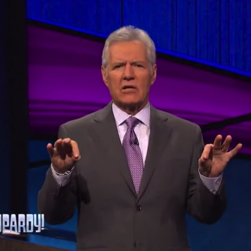Alex Trebek Debuts His Rap Game, Busts Out Part of <i>Fresh Prince</i> Theme on <i>Jeopardy</i>