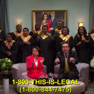 Watch: John Oliver Invites You to Join Our Lady of Perpetual Exemption (For a Small Fee)